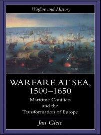 کتاب Warfare at Sea, 1500 -1650