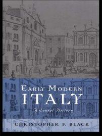 کتاب Early Modern Italy