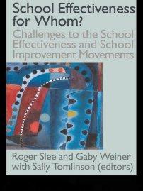 کتاب School Effectiveness for Whom?