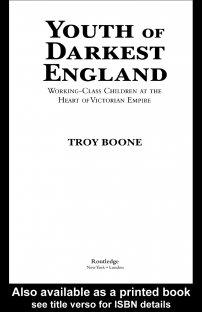 کتاب Youth of Darkest England