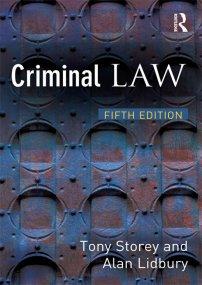 کتاب Criminal Law