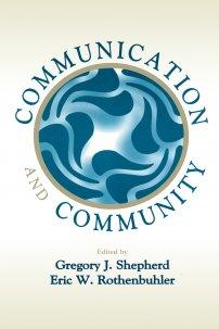 کتاب Communication and Community