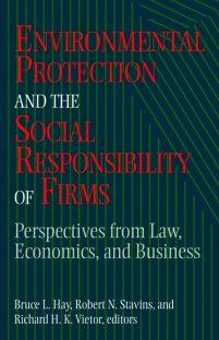 کتاب Environmental Protection and the Social Responsibility of Firms