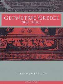 کتاب Geometric Greece
