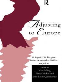 کتاب Adjusting to Europe