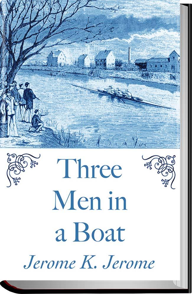کتاب Three Men in a Boat