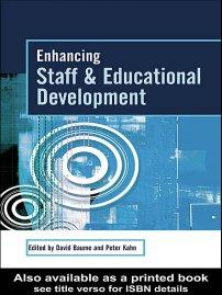 کتاب Enhancing Staff and Educational Development