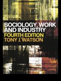 کتاب Sociology, Work and Industry