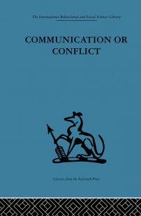 کتاب Communication or Conflict
