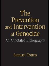 کتاب The Prevention and Intervention of Genocide