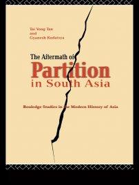 کتاب The Aftermath of Partition in South Asia