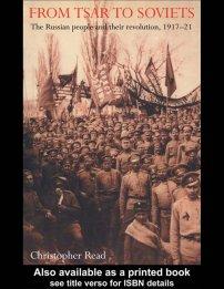 کتاب From Tsar To Soviets
