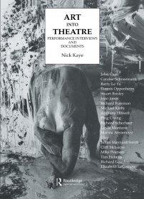 کتاب Art Into Theatre