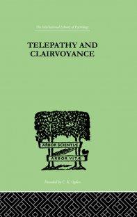 کتاب Telepathy and Clairvoyance