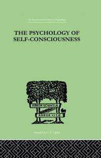 کتاب The Psychology Of Self-Conciousness