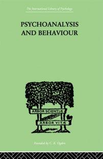 کتاب Psychoanalysis And Behaviour