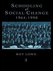 کتاب Schooling and Social Change 1964 -1990