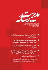 مجله ماهنامه علمی تخصصی مدیریت رسانه شماره ۴۲