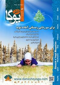 مجله ماهنامه دانش یوگا - شماره ۸۷