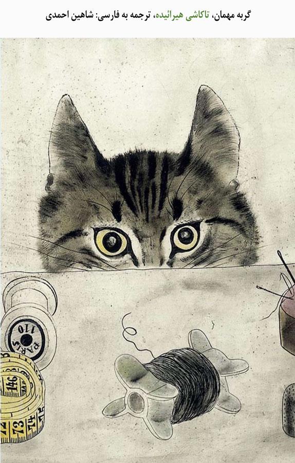 گربه مهمان
