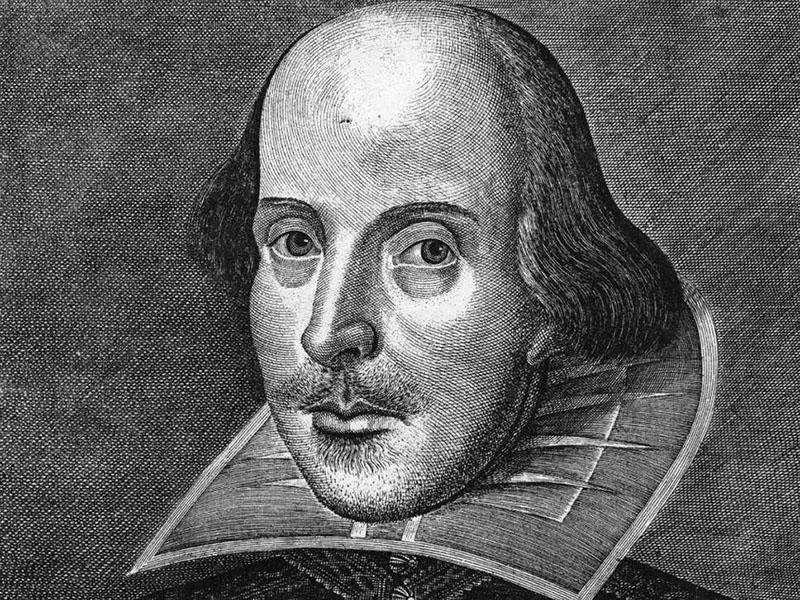 ویلیام شکسپیر، نمایشنامهنویس، شاعر و غزلسرای انگلیسی