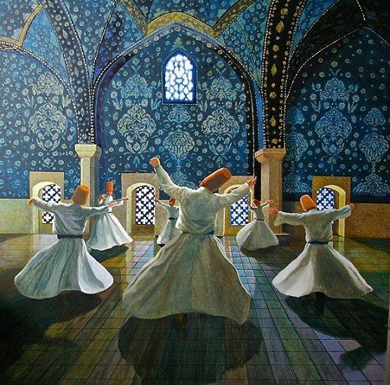 زندگی مولانا و شمس